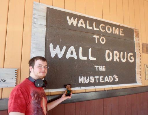 Ralph at Wall, SD
