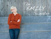 "Photo of henley sweater ""the Emily""."