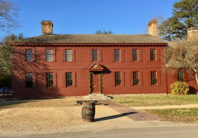 Front View, Randolf House, Colonial Williamsburg
