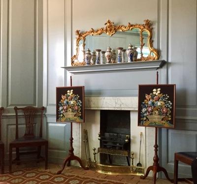 Main Parlor, Randolf House, Colonial Williamsburg