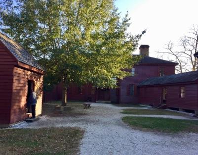 Rear Yard, Randolf House, Colonial Williamsburg